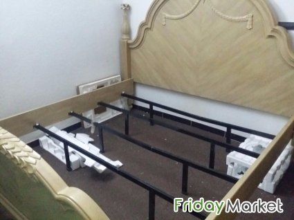 Complete Double Bed Set. Without Metress. Riyadh Saudi Arabia