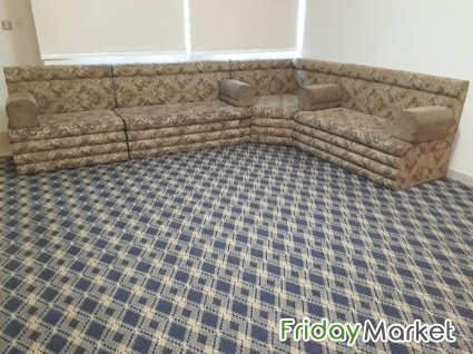 SAR 1120 / Great Offer -Very Good Condition Majlis Type Sofa, Two