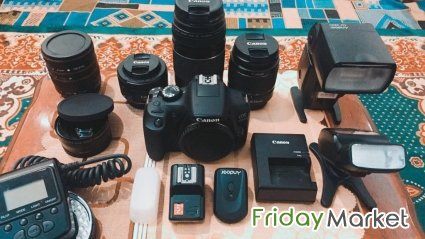 Canon 1300D - Rebel T6i With Lenses And All Equipments Riyadh Saudi Arabia