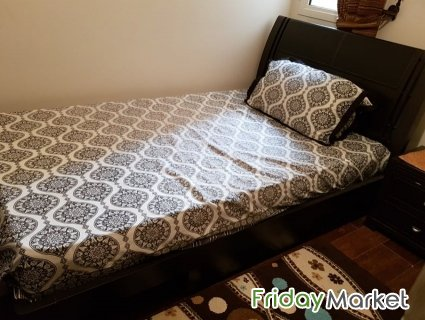 HOME CENTRE ALMOST NEW SINGLE BED SET Riyadh Saudi Arabia