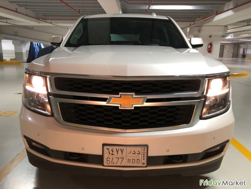 Chevrolet Tahoe LT Sept-2017 almost new condition in Saudi ...