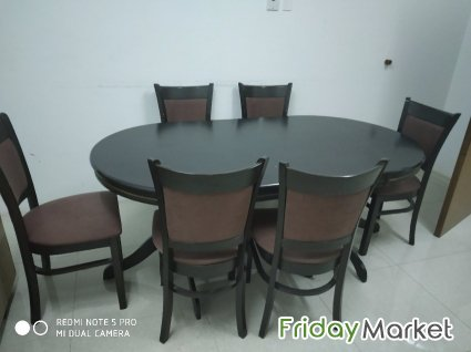 New Dining Table Used For 2 Years Dammam Saudi Arabia