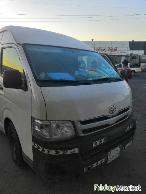 Urgent Sale Toyota Hiace Its Perfect Not In Bad Condition And Selling Tabouk Saudi Arabia