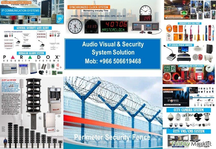 Audio Visual And System Solution Jeddah Saudi Arabia