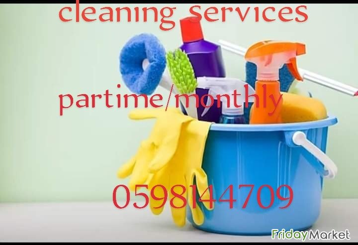 We Offer Cleaning Services Par Time/monthly @riyath 0598144709 Riyadh Saudi Arabia